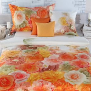 Duvet-Bezug Roswita orange
